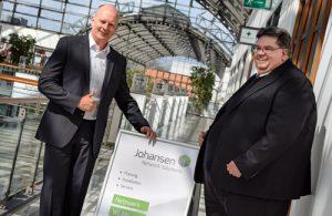 Sven Johansen und Uwe Richelmann Johansen Network Solutions Hamburg